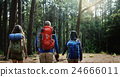 Hiking Hiker Destination Camping Backpacker Concept 24666011