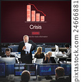 Crisis Critical Point Economy Emergency Risk Concept 24666881