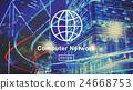 Computer Network Technology Online Internet Website Concept 24668753