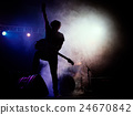 performance silhouette stage 24670842