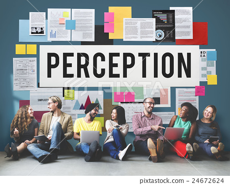 Perception Insight Awareness Seeing Vision Brain Concept 24672624