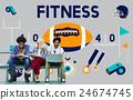 League Sport Fitness Exercise Training Teamwork Winner Concept 24674745