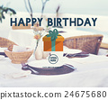 Happy Birthday Event Occasion Anniversary Concept 24675680