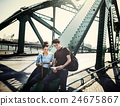 Couple Sweet Lifestyle Travel Traveler Concept 24675867