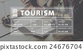 Holiday Travel Tourism Relaxation Graphic Concept 24676704