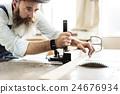 Carpenter Craftmanship Carpentry Handicraft Wooden Workshop Concept 24676934