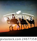 Merry Christmas Celebrate Festive Happy Santa Concept 24677358