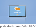 Online Chat Commmunication Message Concept 24681077