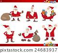 santa on christmas set 24683937