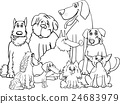 purebred dogs coloring page 24683979