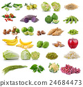 collection of fruit and vegetable  24684473