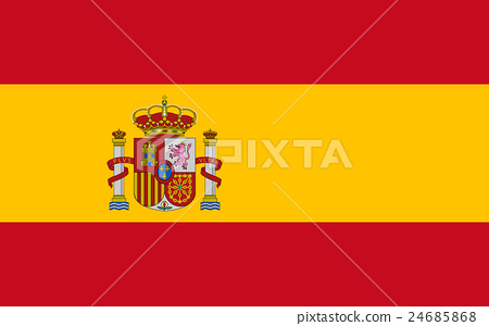 Flag of Spain 24685868