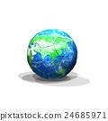 월드컵과 축구 공 24685971
