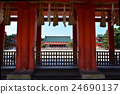 heian shrine, byakkoro, heian palace main southern gate 24690137