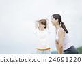 훈련, 여성, 여자 24691220