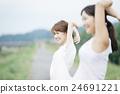 運動 鍛煉 女性 24691221