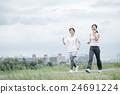 运动 锻炼 女性 24691224