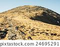Footpath leading up the peak Chopok, Low Tatras 24695291