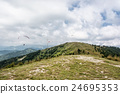Paragliding, Donovaly, mountains scene, Slovakia 24695353