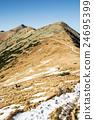 Footpath leading up the peak Chopok, Low Tatras 24695399