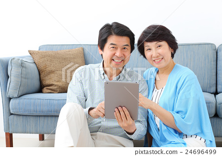 Couple Lifestyle Tablet PC 24696499