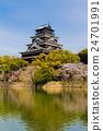 Hiroshima Castle in Japan 24701991