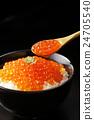 腌三文鱼籽 鱼卵 酱油腌 24705540