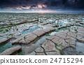cracked mud on Watten sea coast 24715294
