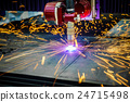 CNC Laser plasma cutting of metal 24715498