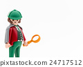 magnifying glass, miniature, magnifier 24717512