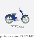 motorbike, vector, motorcycle 24721407