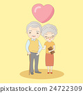 old couple smile to you 24722309