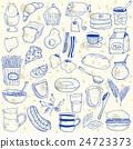 Breakfast doodles 24723373
