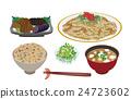 矢量 日本鹹菜 烹飪 24723602
