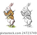 愛麗絲的兔子在仙境 24723749