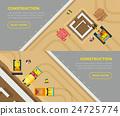Construction Banners Set  24725774