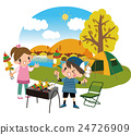 營地 露營 燒烤 24726909