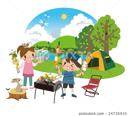 barbecued, bbq, day camp 24726910
