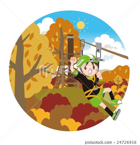 秋天 秋 玩耍 24726916
