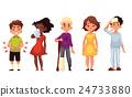Sick children - cold chieckenpox broken leg 24733880