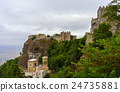 panoramic view of Erice town, Sicily, Italy 24735881