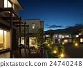 夜景 房屋 房子 24740248