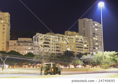 Rio de Janeiro night view Brazil Botafogo 24740695