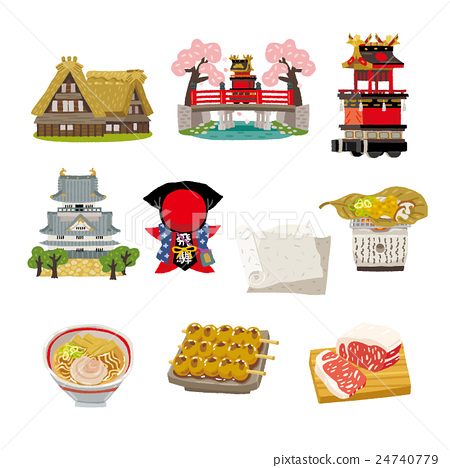 gifu, special product, vector 24740779
