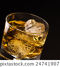 Glass of whiskey 24741907
