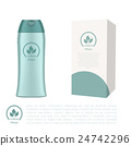 Cosmetic bottle and a box 24742296