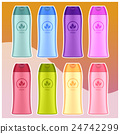 Set of Cosmetic bottles 24742299