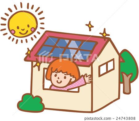 太陽能發電 太陽能 光伏 24743808