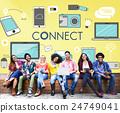 Connect Connection Devices Technology Communicztion Concept 24749041