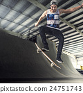 Skateboarder Skateboard Skateboarding Skate Concept 24751743